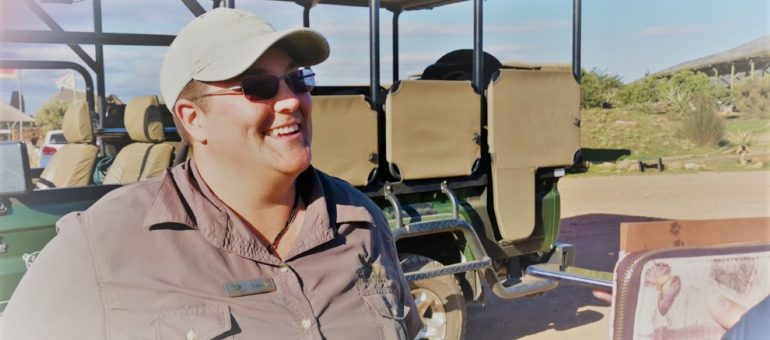 Natasja van Zyl – The Safari Guide