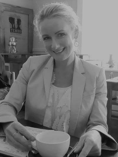Loretta de Moor is a marketer and coffee shop owner in Mossel Bay, the Garden Route