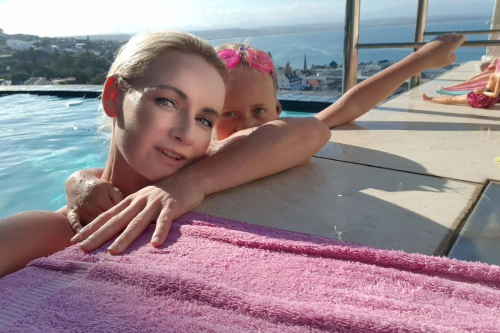 Loretta de Moor is a dynamic woman and a single mum to Sammy, her daughter, in Mossel Bay.