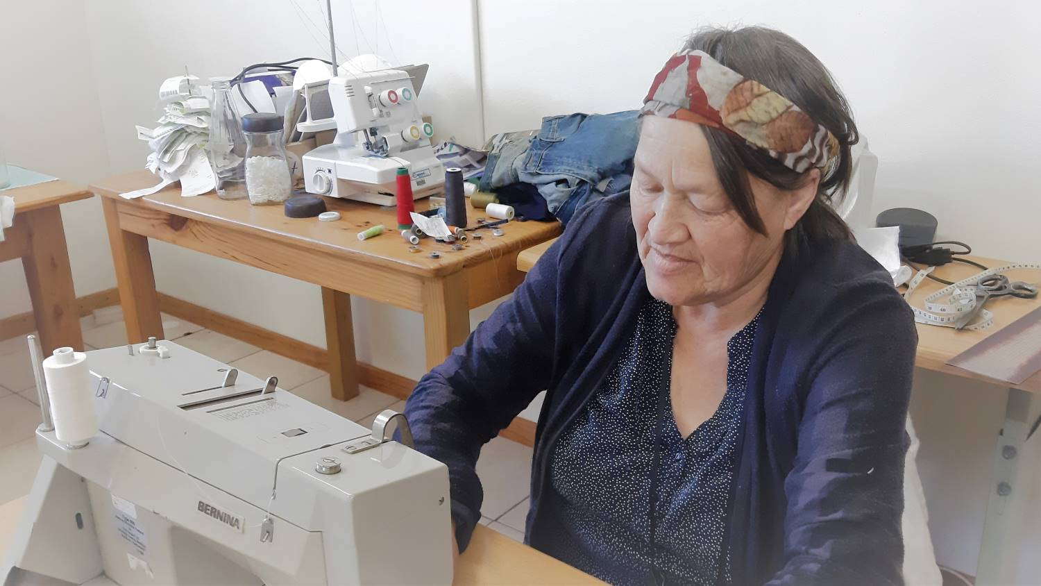 Cynthia Joubert - The Seamstress